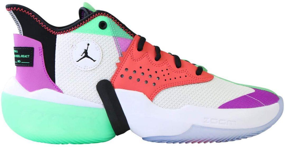 zapatilla de baloncesto de cada color