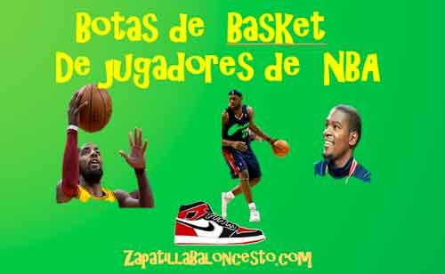 botas-de-basket-de-jugdores-de-nba